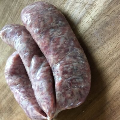 Goat Sausages With Black Pepper