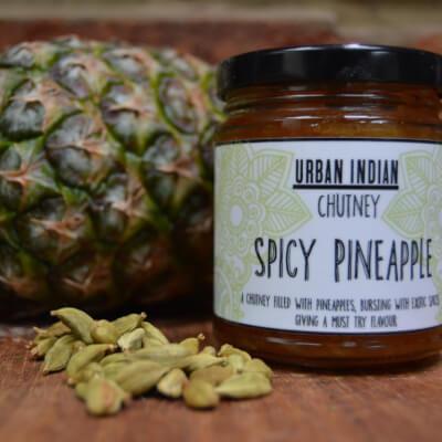 Spicy Pineapple Chutney