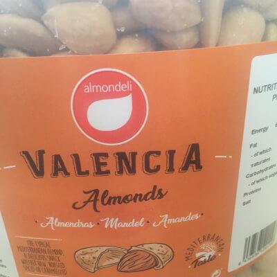 Twilight Salted Almonds