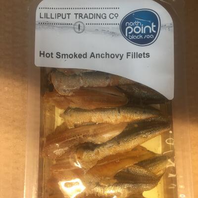 Hot Smoked Anchovies