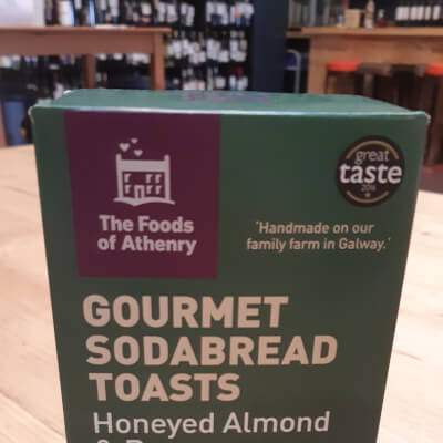Athenry Toasts Almond And Rosemary