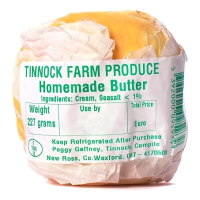 Tinnock Farm Homemade Butter