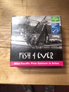 Pink Salmon In Brine (Wild Pacific)