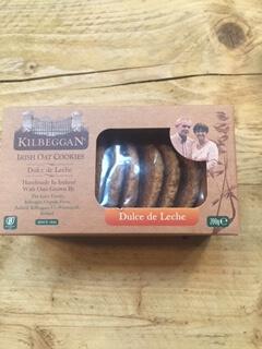 Kilbeggan Oat Cookies - Dulce De Leche
