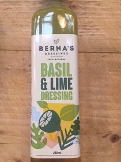 Basil And Lime Dressing - Bernas