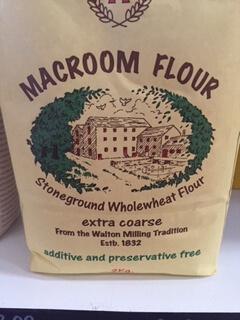 Macroom Extra Coarse  Stone Ground Wholewheat Flour