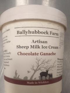 Sheep's Milk Ice-Cream - Chocolate Ganache