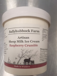 Raspberry Crumble Ice-Cream Sheep's Milk