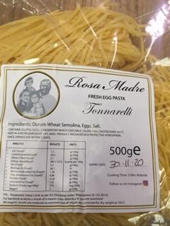 Rosa Madre Fresh Pasta