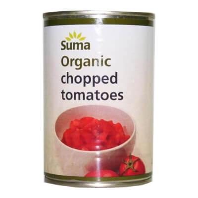 Suma Organic Chopped Tomatoes