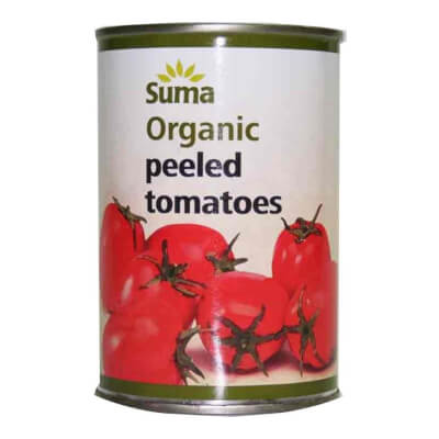 Suma Peeled Whole Organic Tomatoes