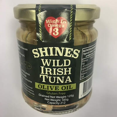Shines Wild Irish Tuna (Glass Jar)