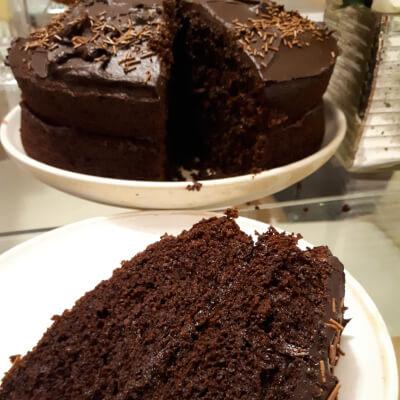 Small Chocolate Vegan Cake