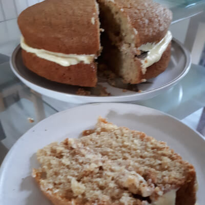Small Vanilla Cake