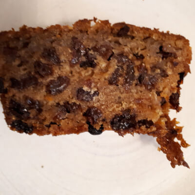Earl Grey Fruit Cake (8 Slices)