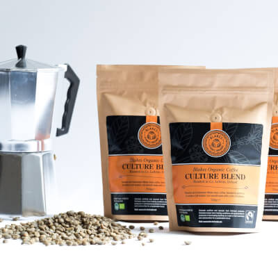 1Kg Catering Pack Culture Blend Organic Coffee Beans