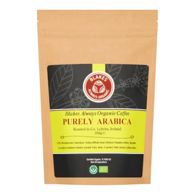 1Kg Catering Pack Purely Arabica Organic Coffee Beans