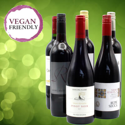 Vegan Red Wine Selection