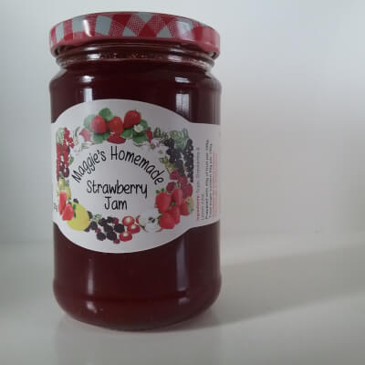 Maggie's Homemade Strawberry Jam
