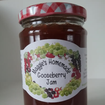 Maggie's Homemade Gooseberry Jam
