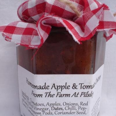 Apple And Tomato Chutney