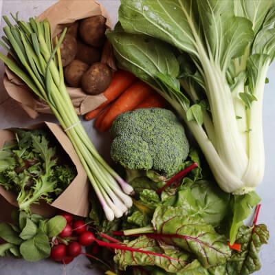 Seasonal Organic Veg Box