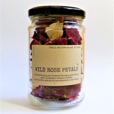 Dried Wild Rose Petals