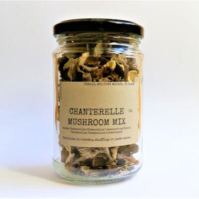 Dried Chanterelle Mushroom Mix