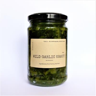 Wild Garlic Kraut