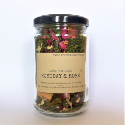 Rosebay And Rose Tea