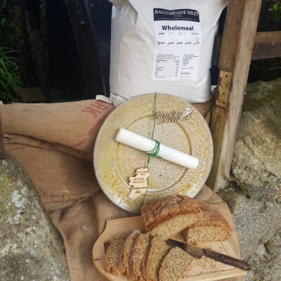 5Kg Ballyminane Mills Handcrafted Stoneground Wholemeal Flour