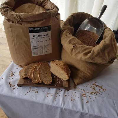 10Kg Ballyminane Mills Handcrafted Stoneground Wholemeal Flour