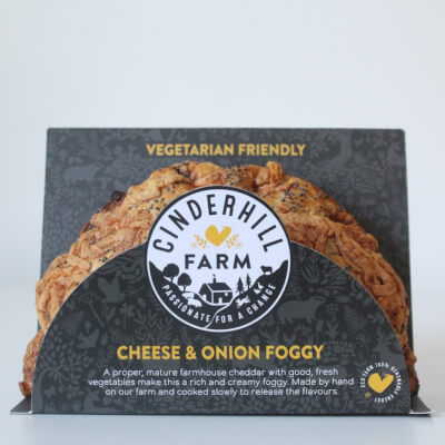 Cheese & Onion Foggy (Suitable For Vegetarians)