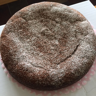 Gluten Free Chocolate & Orange Cake