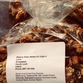 Gluten & Oat Free Granola