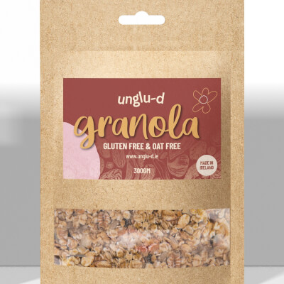 Gluten & Oat Free Granola - **Please Note Price Change, For More Information See Description.
