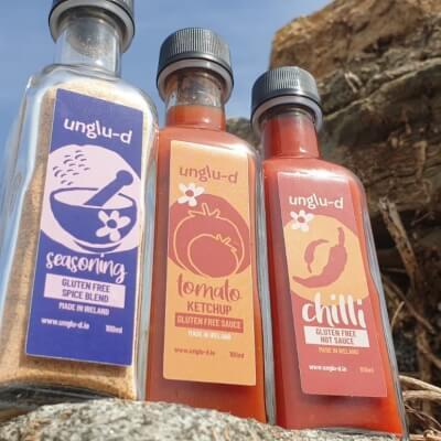 Unglu-D Sauce & Seasoning Triple Pack
