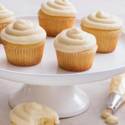 Gluten Free Vanilla Cupcakes - Pack Of 6