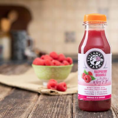Raspberry Fruit Flavoured Whey Drink