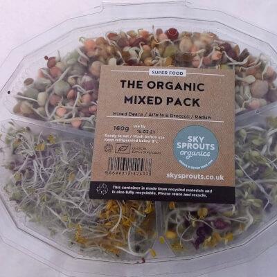 Sprouts Mix Beans, Alfalfa&Broccoli And Radish