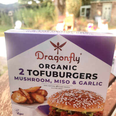 Organic Tofuburgers (2) Mushroom, Miso & Garlic
