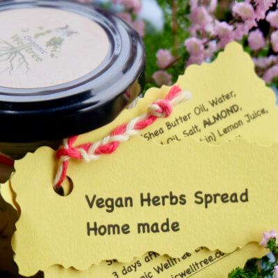 Vegan Wild Garlic Spread