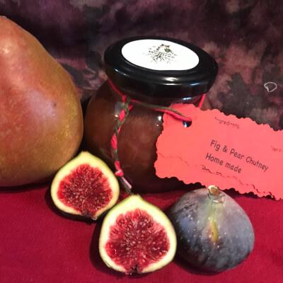 Fig & Pear Chutney