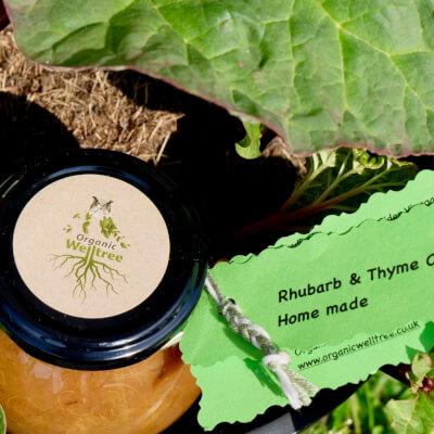 Rhubarb & Thyme Chutney
