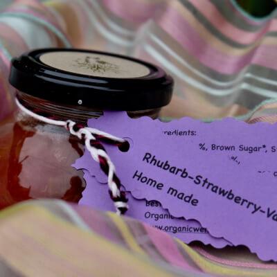 Rhubarb-Strawberry-Vanilla Jam