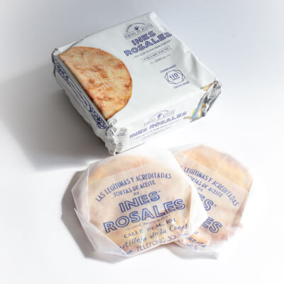 Ines Rosales Olive Oil Tortas (Sweet  Crunchy Biscuits)