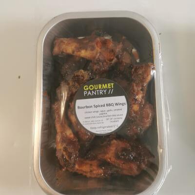 Bourbon Spiced Chicken Wings