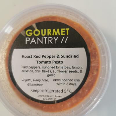 Roasted Red Pepper & Sundried Tomato Pesto