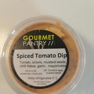Spiced Tomato Dip