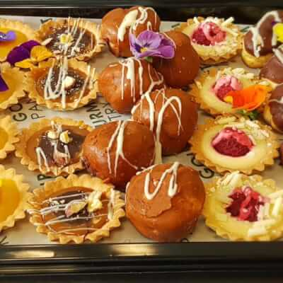 Platter Of Sweet Canapes